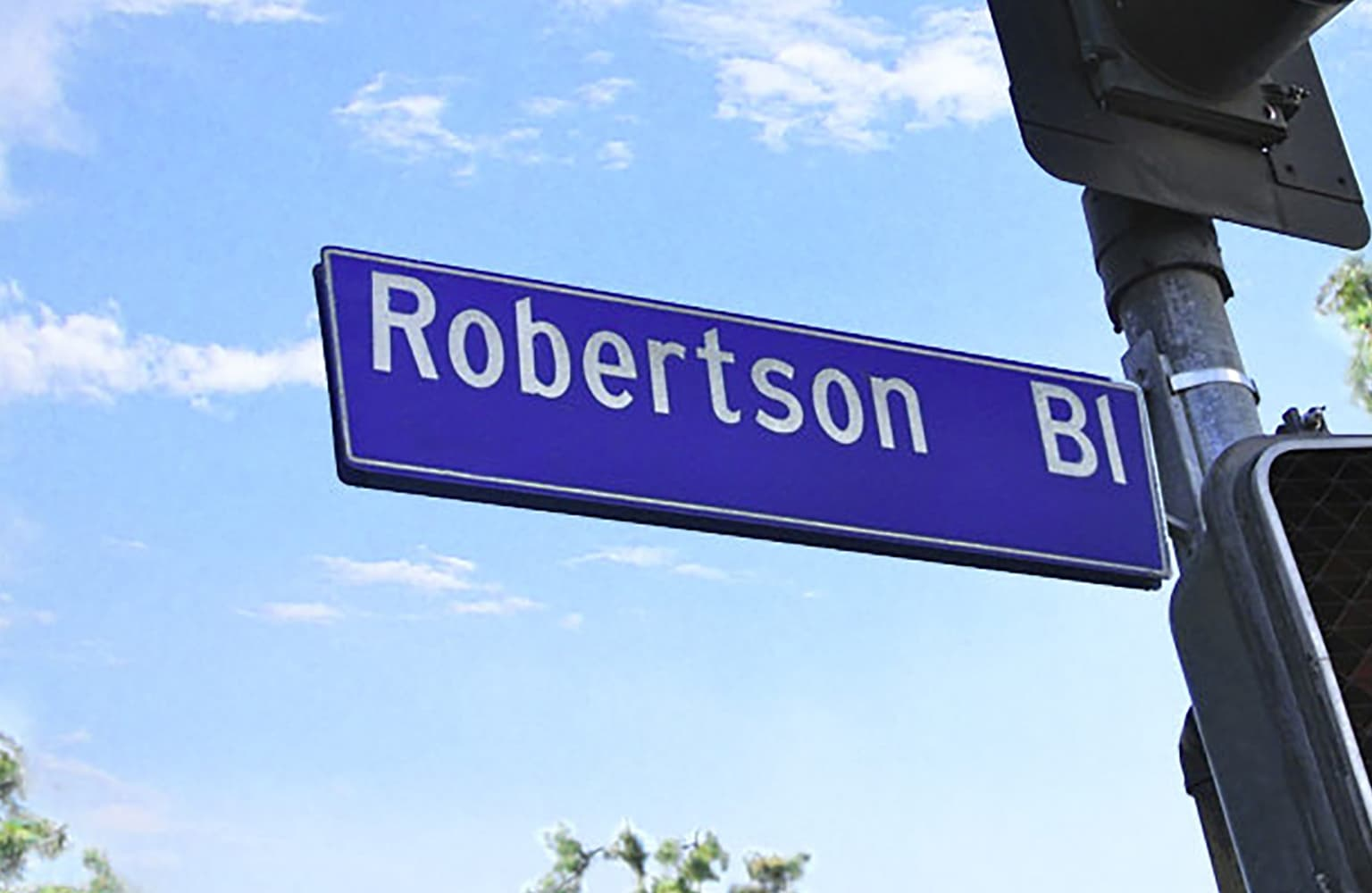 About South Robertson Boulevard